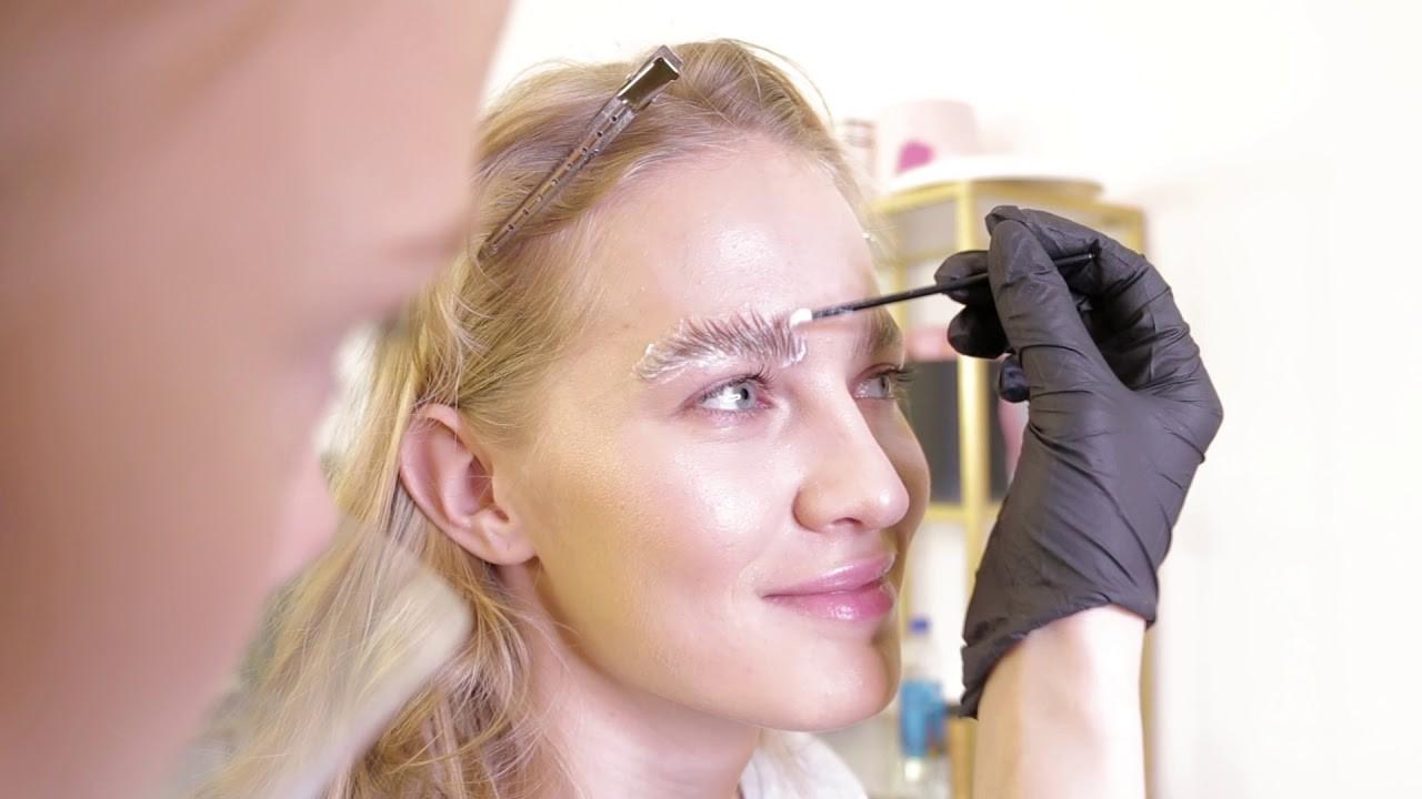долговременная укладка бровей как проходит процедура