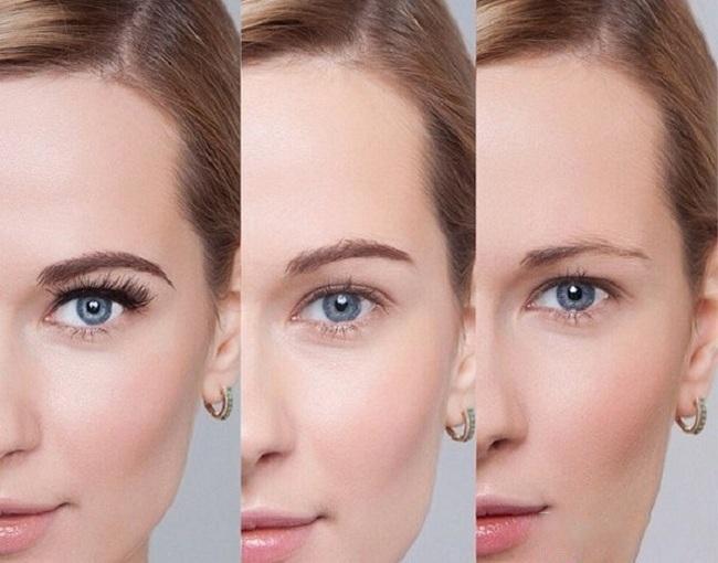 Осветление бровей – как не сжечь брови особенности процедуры
