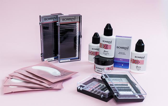 bombini материалы для наращивания ресниц