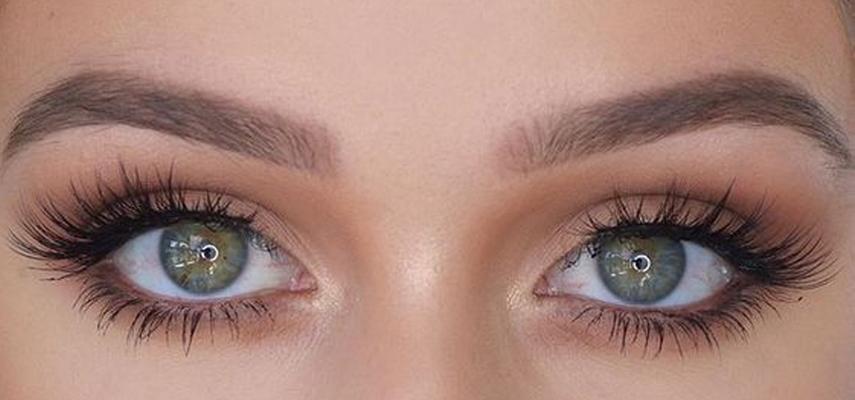 глаза наращивание л изгиб