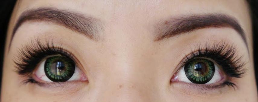 узкие глаза наращивание