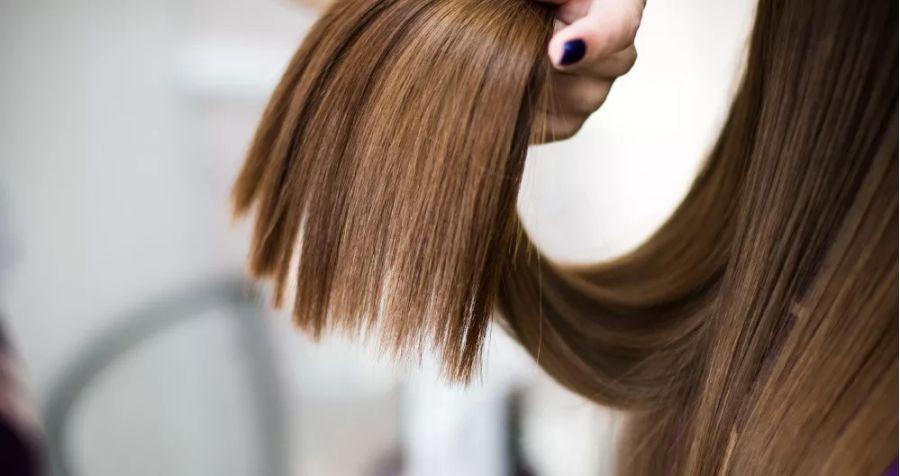 Волосы после кератина